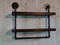 mensola-legno-massello-rustica-parete-vintage-industrial-style-rustico-libreria