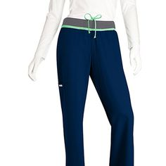 Athletic Collection by Grey's Anatomy Women's Mid Rise Cargo Pant #nursestyle #hospitalstyle #scrubs #greysanatomy
