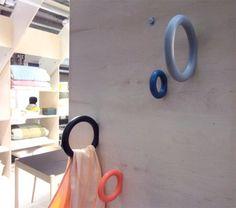 Hooks by Swedish designer Staffan Holm