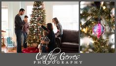 Christmas Tree Family Session