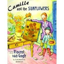 Camille and the Sunflowers: A Story about Vincent van Gogh - Laurence Anholt Elementary Art Rooms, Art Lessons Elementary, Elementary Education, Henri Matisse, Vincent Van Gogh, Arte Elemental, Georgia O'keeffe, Van Gogh Sunflowers, Art Projects