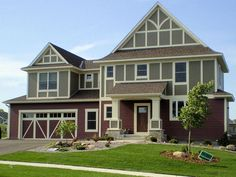LDK exterior featuring James Hardie siding with board and batton details.