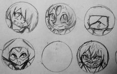 SU button sketches