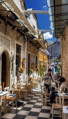 Morning Coffe in Ioannina Town, Epirus, Greece (by Stelios Kritikakis)