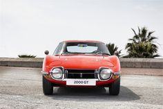 The classic Toyota 2000GT