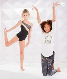 From the beam to the floor, get leotards and leggings that make her the MVP of the team!
