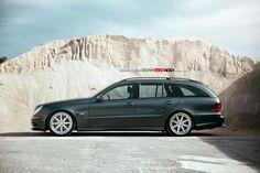 Mercedes-Benz E55 AMG by RENNtech on ADV1 Wheels