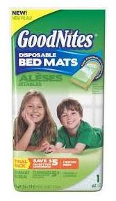 Better-than-Free Goodnites Bed Mats at Walmart!