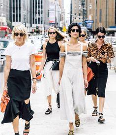 Stylish street style gang.