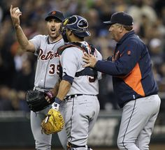 there's something really hot about a fired up baseball player. Justin Verlander