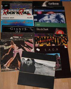 Vinyl Sammlung + Rock/Pop +Stewart + Cocker + Reed + U2 + de Burgh + Uriah Heep