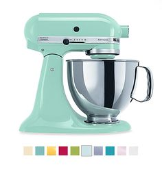 KitchenAid Mixer Giveaway Time! Enter here to win a KitchenAid Artisan 5-Quart Mixer in your choice of fun colors offered. Don't wait, enter now!