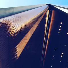shiny metalic perfection! Miu Miu shop by Herzog & de Meuron in the Aoyama district of Tokyo! This shiny cover creates a super cosy and intimate space once inside! #lppcityguidetokyo #miumiu #tokyotokyocityguide #architecture #townske #IAmATraveler #herzoganddemeuron #prada #inspiration #metallic #structure #construction #amazing