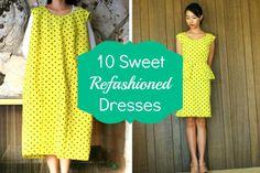 DIY Fashion: 10 Sweet Refashioned Dresses