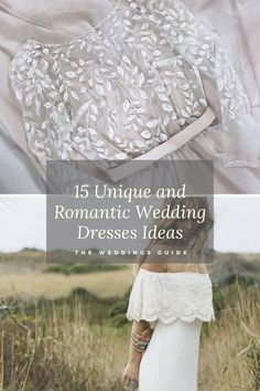 Unique and Romantic Wedding-Dresses Ideas #romanticwedding