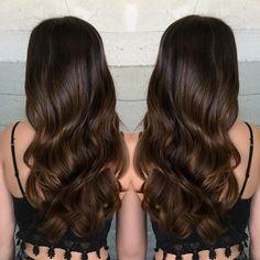 #harttofcolor Brunette Beauty, Brunette Hair, Hair Beauty, Hair Inspo, Hair Inspiration, Hair Again, Clip In Hair Extensions, Brown Hair Colors, Love Hair