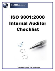 Iso 9001 internal audit checklist for Production department | star ...