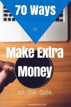 70 Ways to make extra money on the side