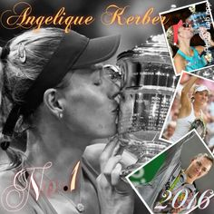 Via Yuri: Australian Open Champion, Championships, Wimbledon Finalist, Olympic Silver medalist, U.S. Open Champion, and World #1 - Dream 2016 for 28 year old Angie Kerber. 9/10/16