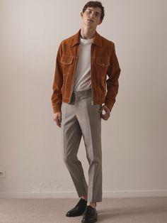 Sandro | Menswear - Spring 2018 | Look 1