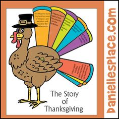 Thanksgiving Craft - Turkey Craft - Thanksgiving Craft - The Story of Thanksgiving Turkey Craft from www.daniellesplace.com