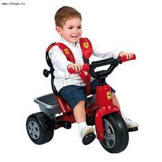 VENTA Feber 800005840 - Triciclo Ferrari infantil, IndalChess.com Tienda de juguetes online y juegos de jardin