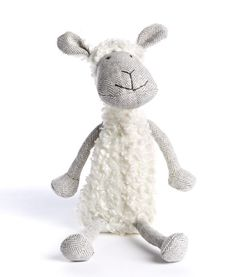 Lucy Lamb by Nana Huchy #oliverthomas #lambplush #lamb #nanahuchy #plushtoy #softtoy #nursery #girlsroom #boysroom
