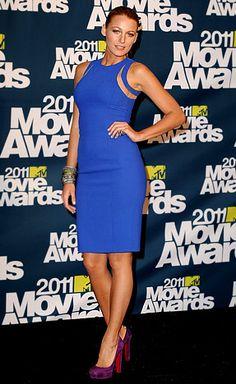 Blake Lively, 2011 MTV Movie Awards, Michael Kors