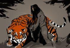 TigerLady by Mr--Jack.deviantart.com on @deviantART