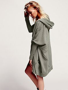 Free People - Oversized Zip Hoodie