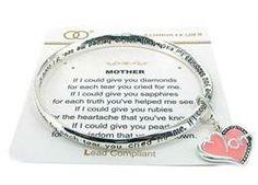 Silver Mother's Prayer Twist Bracelet