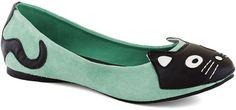 mint cat shoe