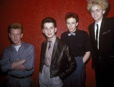 Depeche Mode:Dave Gahan, Martin Gore, Andy Fletcher