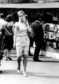 Paris 1963  Quai des Grands Augustins  Photo:Claude Renaud