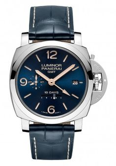 Panerai Luminor 1950 10 Days GMT Automatic Acciaio - blue dial