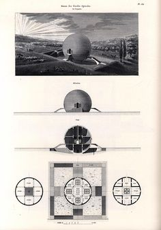 Claude Ledoux, Spherical house, 1789-1806