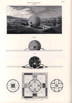 Claude Ledoux's Spherical house: 1789-1806