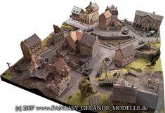 fantasy-gelaende: WWII-Spielplatten (Maßstab 1:72)