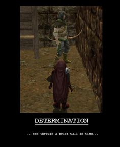 You can do it ranger man!  I believe in you! LOTRO Demotivational Poster.
