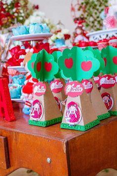 kit produtos chapeuzinho vermelho