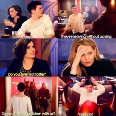'Do you ever not tattle?' Regina Snow OUAT