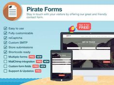 Download ThemeIsle  Pirate Forms Pro v1.4.0  Contact Form Plugin for WordPress Free