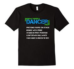 Mens Dancer When Dance T shirt 2XL Black Gotham Threads