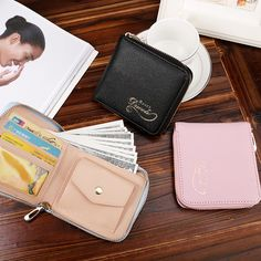 Excellent Quality PU Leather Womens Wallets Female Small Zipper Wallet for Women Brand Short Leather Purse Clutch Money Bag #jewelry, #women, #men, #hats, #watches, #belts, #fashion