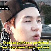LOL suga xD I feel you, but please I will gladly be your girlfriend any day