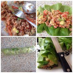 I❤️cooking..tuna-advocado salad