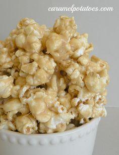 Peanut Butter Pop Corn, Gotta Try!!!!