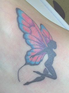 fairy tattoo   by ~Derek-GothicTattoo on deviantART