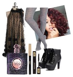 """""""Tonight We're Going to Party"""" by rachel-rosalie-idzerda on Polyvore featuring Ryu, Smartwool and Yves Saint Laurent"""