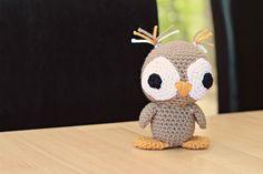 Little amigurumi owl - check it out Lori